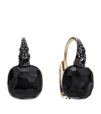Pomellato Onyx Rose Gold Capri Earrings Female