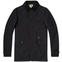 Carhartt Harris Trench Coat Black