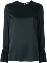 P.A.R.O.S.H. 'Piano' Blouse Black