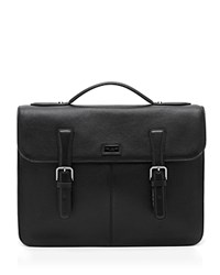 Ted Baker Leather Satchel Black