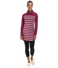 Lole Principle Tunic Mulberry Multi Stripe Women's Long Sleeve Pullover