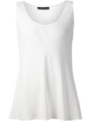 The Row Long Tank Top White