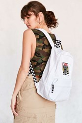 Vans X Uo Calico Backpack White