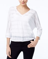 Inc International Concepts Hooded Top Only At Macy's Bright White