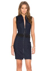 G Star Lynn Slim Dress Blue