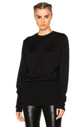 Ann Demeulemeester Pullover Sweater In Black