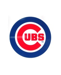 Rico Industries Chicago Cubs Static Cling Decal Team Color