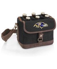 Picnic Time Baltimore Ravens Beer Caddy Black Brown