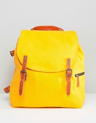 Royal Republiq Legioner Mine Backpack In Yellow Yellow