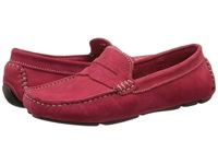 Massimo Matteo Penny Keeper Red Women's Moccasin Shoes