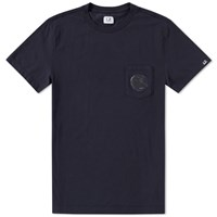 C.P. Company Pocket Lens Tee Blue