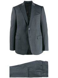 Emporio Armani Slim Fit Two Piece Suit Grey