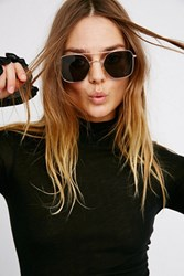 Free People Womens Keep It Classy Aviator