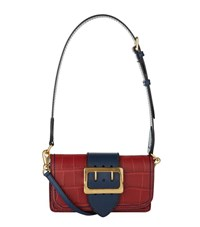Burberry Shoes And Accessories Alligator Buckle Bag Female Red