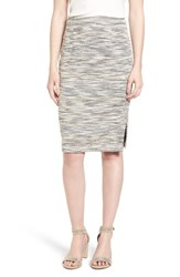 Halogenr Women's Halogen Side Slit Pencil Skirt