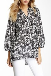 Chaudry Floral Print Tunic Multi