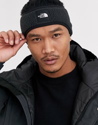 The North Face Denali Fleece Earband In Black