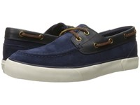 Polo Ralph Lauren Rylander Newport Navy Newport Navy Sport Suede Smooth Oil Leather Men's Shoes