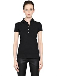Burberry Stretch Cotton Polo Shirt