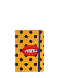 Seletti Small Lips And Teeth Notebook Multicolor