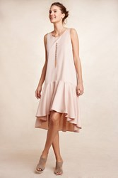 Maeve Merida High Low Dress Rose