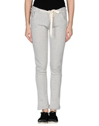 Peacock Blue Trousers Casual Trousers Women Light Grey