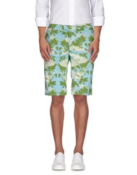 Haikure Trousers Bermuda Shorts Men Green