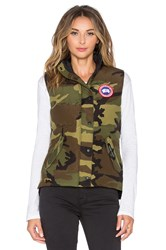 Canada Goose Freestyle Vest Army