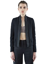 Ilaria Nistri Structured Blazer Jacket Black