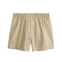 J.Crew Golden Striped Boxers Golden Yellow