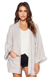Wildfox Couture Basic Cardigan Gray