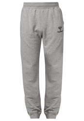 Hummel Classic Bee Tracksuit Bottoms Grey Melange Mottled Grey