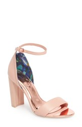 Ted Baker London Phanda Sandal Nude Leather