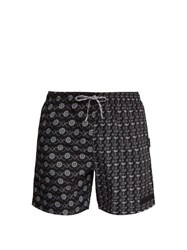 Stella Mccartney Paisley Print Swim Shorts Black
