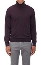 Brioni Men's Turtleneck Sweater Purple