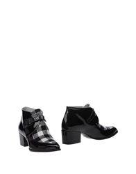 Msgm Ankle Boots Black
