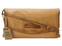 Frye Jenny Convertible Crossbody Camel Soft Vintage Leather Handbags Tan