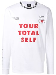 P.A.M. Perks And Mini Pam Your Total Self T Shirt White
