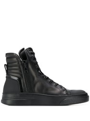 Bruno Bordese Lace Up High Top Sneakers Black