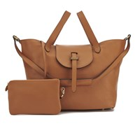 Meli Melo Meli Melo Women's Thela Classic Leather Tote Bag Tan
