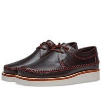 Clarks Originals Weaver Hike Burgundy