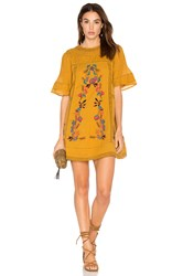 Free People Perfectly Victorian Dress Yellow