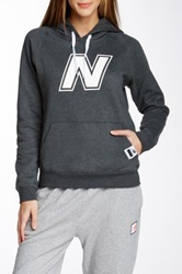 New Balance Essential Pullover Hoodie Gray
