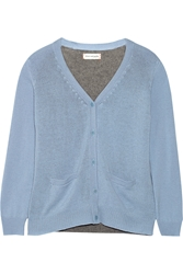 Chinti And Parker Two Tone Cashmere Cardigan