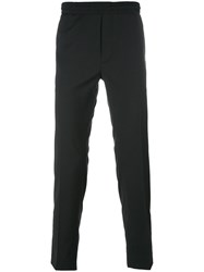 Diesel Black Gold Elasticated Waistband Trousers Black