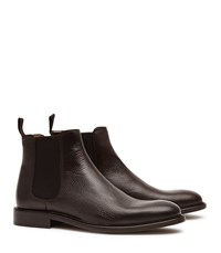 Reiss Tenor Leather Mens Leather Chelsea Boots In Brown