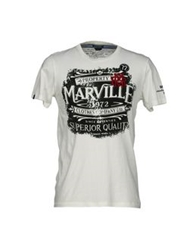 Marville T Shirts Bright Blue