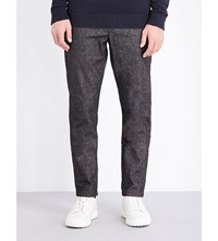 Tommy Hilfiger Denton Regular Fit Cotton Blend Chinos Charcoal Heather Eur