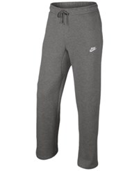 Nike Men's Cargo Pocket Fleece Pants Dark Grey Heather