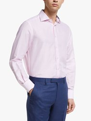 Smyth And Gibson Linen Shirt Pink